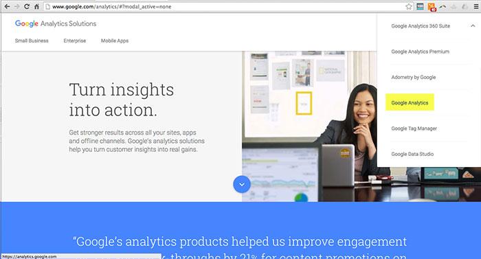 Adding Your Site to Google Analytics Step 2