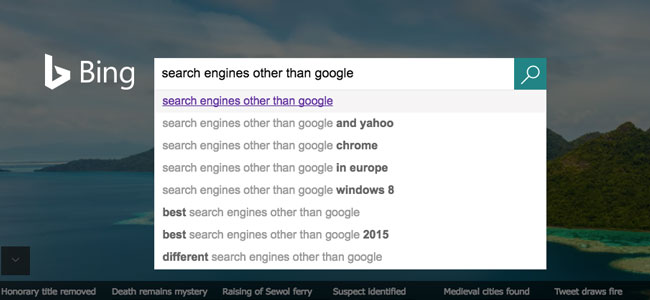 List of Search Engines Other Than Google - SEO Mechanic