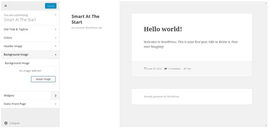 WordPress Theme 2015